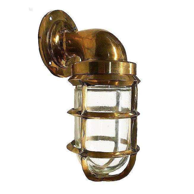 Bronze Bulkhead Light Shiplights