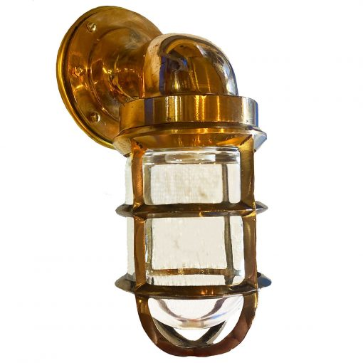 Non-Corrosive Bronze Starboard Sconce by Shiplights
