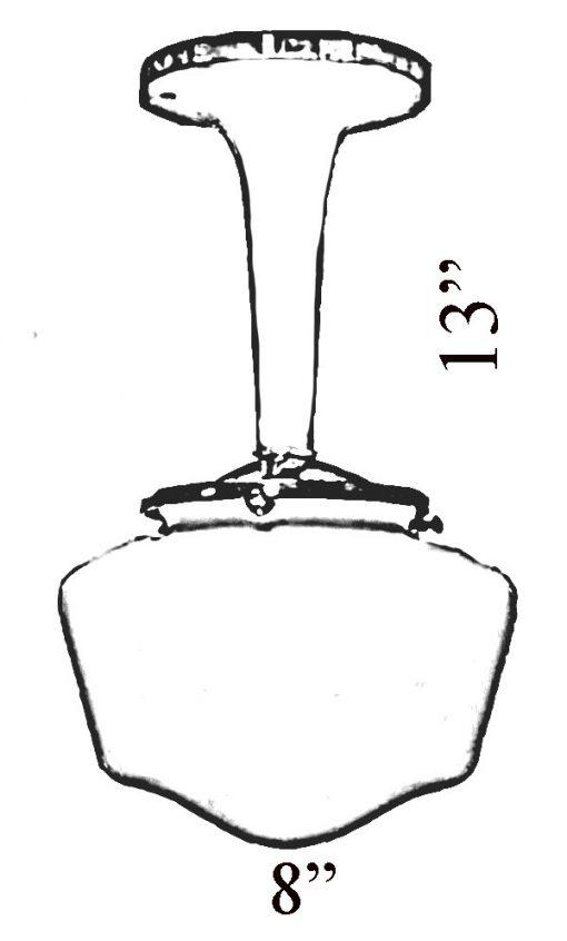 Art Deco Pendant Diagram by Shiplights