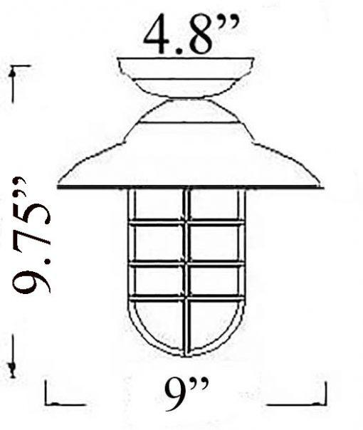 Bulkhead Pendant Diagram (C-3F)