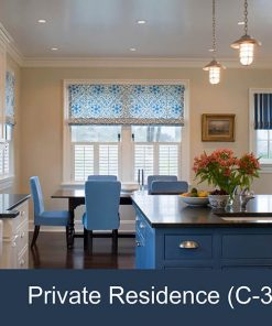 Nautical Kitchen Design with Lakeside Chain Light
