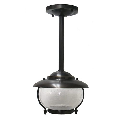 Oil Rubbed Bronze Bubble Glass Light (C-5TUB) by Shiplights