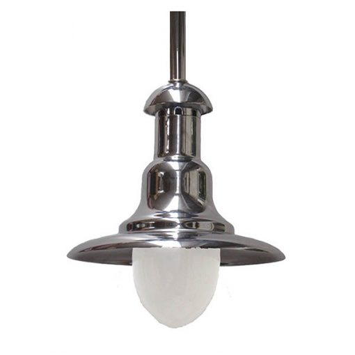 Wharf Light in Polished Chrome by Shiplights (C-7TUB)