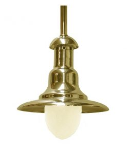 Solid Brass Wharf Light by Shiplights (C-7TUB)