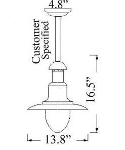 Wharf Light Diagram by Shiplights (C-7TUB)
