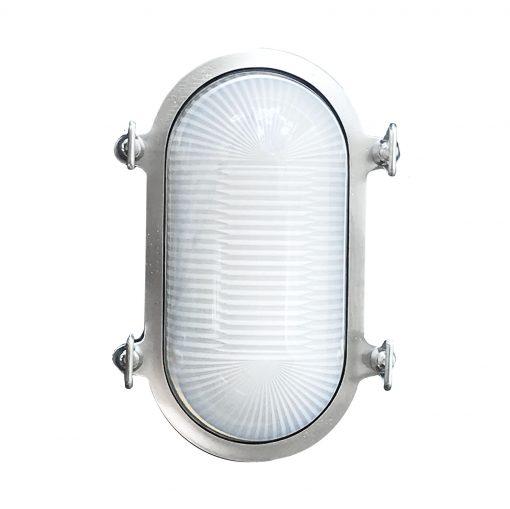 Satin Nickel Industrial Light by Shiplights