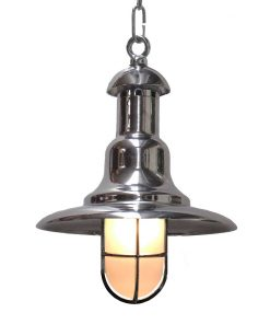 Nautical Wharf Light with Cage by Shiplights