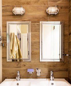 Industrial Bathroom Lighting by Shiplights (O-1C)