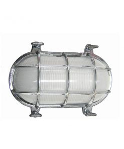 Chrome Oval Cage Bulkhead Light compare to DWR Davey cage light