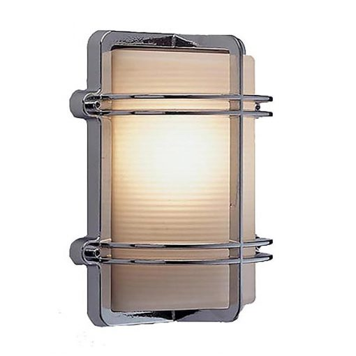 Chrome Modern Wall Sconce (O-4C) by Shiplights
