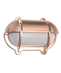Oval Cage Bulkhead Sconce by Shiplights