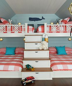 Nantucket Style Nautical Bunks