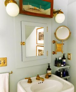 Nautical Schoolhouse Wall Mount Bathroom Lighting