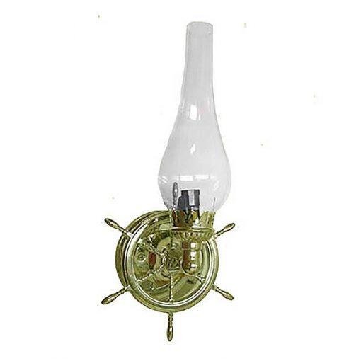S-1-Nautical-Wheel-Sconce Ship Lamp