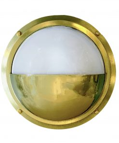 Shiplights Nautical Half Moon Sconce (Compare to Pelham Moon Sconce)