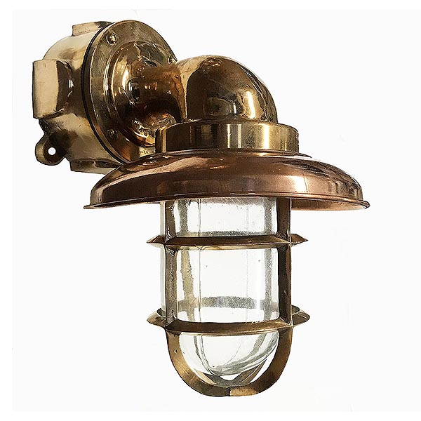 Marine Grade Bulkhead Light Shiplights, Outdoor Nautical Lights