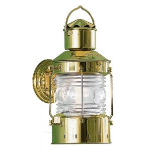 U-3 Marine-Grade Brass Outdoor Nautical Wall Light