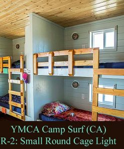 Nautical Bunk Lighting at YMCA Camp Surf