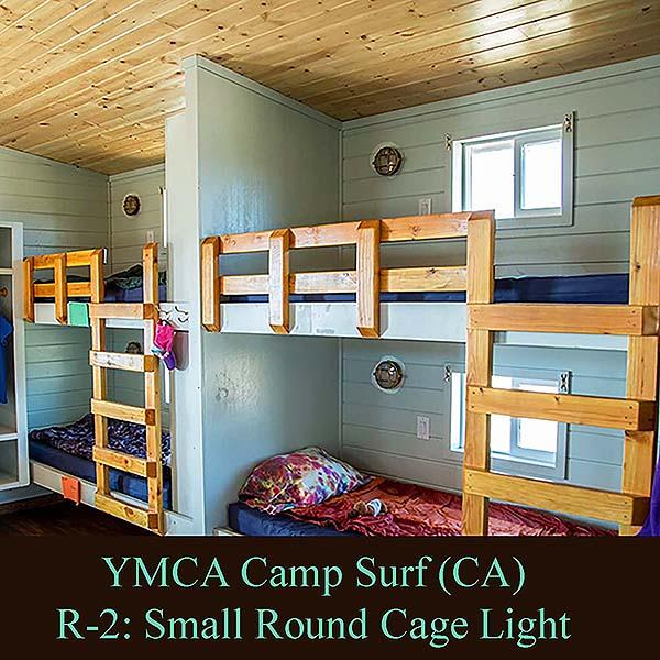 Small Round Cage Light Shiplights