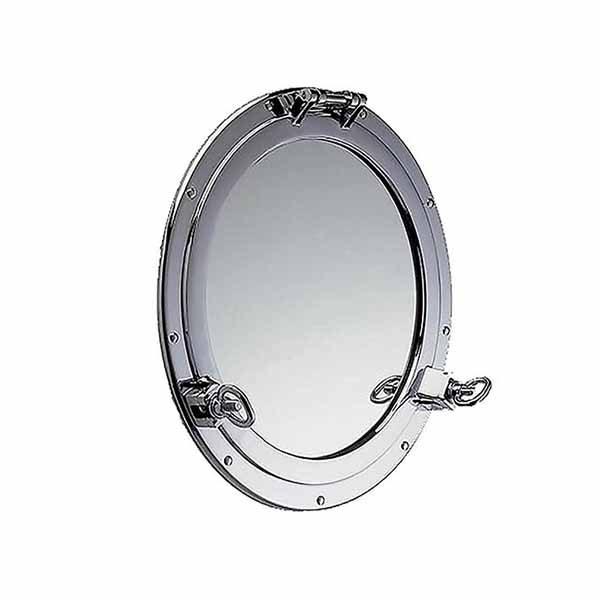 Chrome Plated Porthole Mirror
