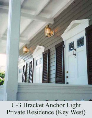 Bracket Anchor Light in Key West, FL by Shiplights