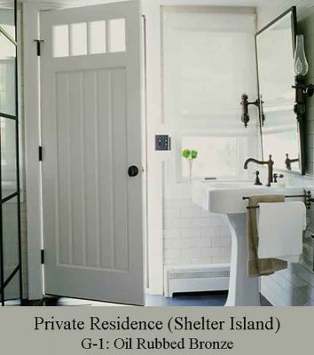 Oil Rubbed Bronze Nautical Bathroom light by Shiplights
