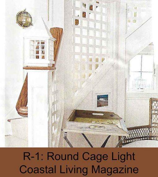 Brass Nautical Stair Light by Shiplights (Coastal Living Magazine)