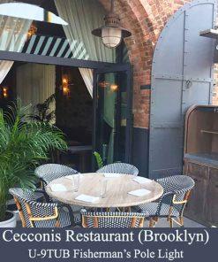 Copper Exterior Nautical Pendants by Shiplights (Brooklyn, NY)