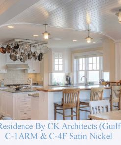 Nautical Stainless Kitchen lighting by Shiplights