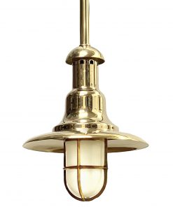 Wharf Bulkhead Pendant Nautical Hanging Light C-10TUB Shiplights