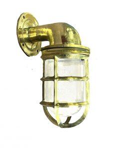 Marine Grade Brass Passageway Light